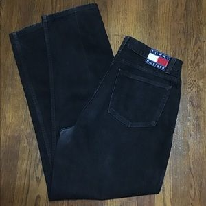 Vintage Tommy Hilfiger Black Denim Jeans